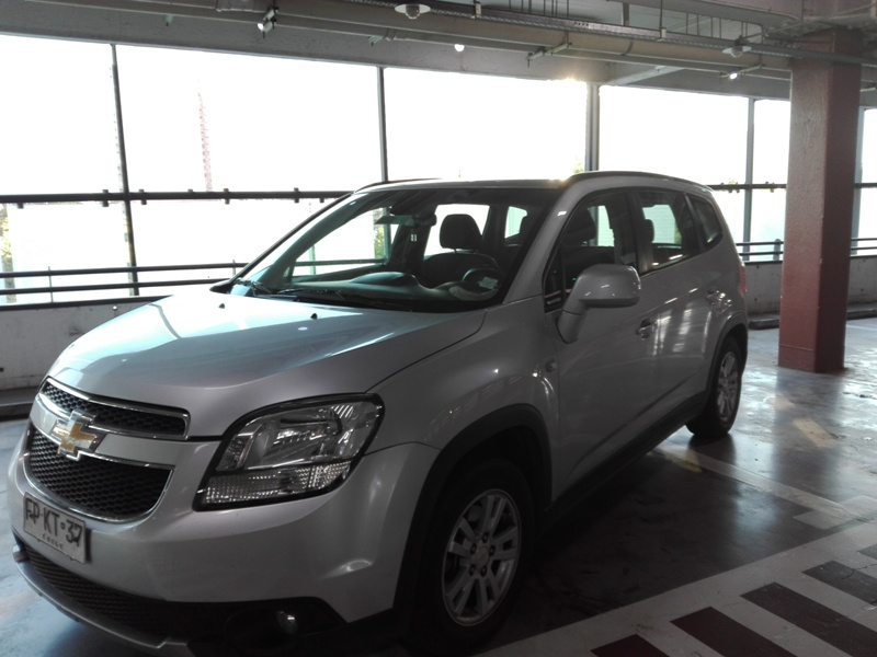 Chevrolet Orlando 2.4 At año 2013