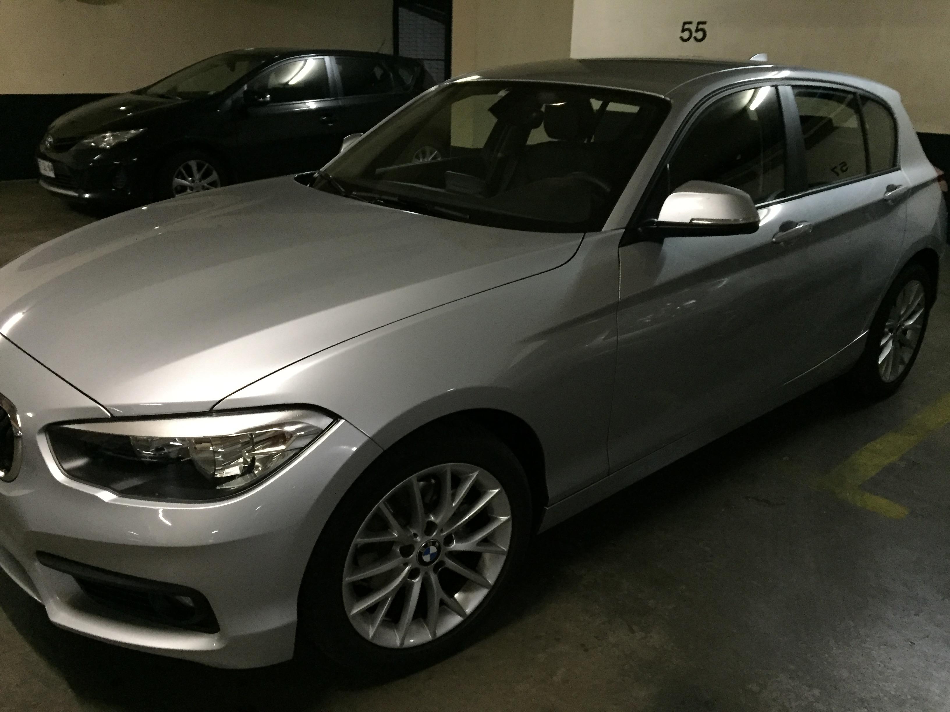 BMW 118I  año 2017