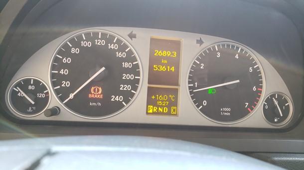 Mercedes-Benz B180 HB5 año 2012