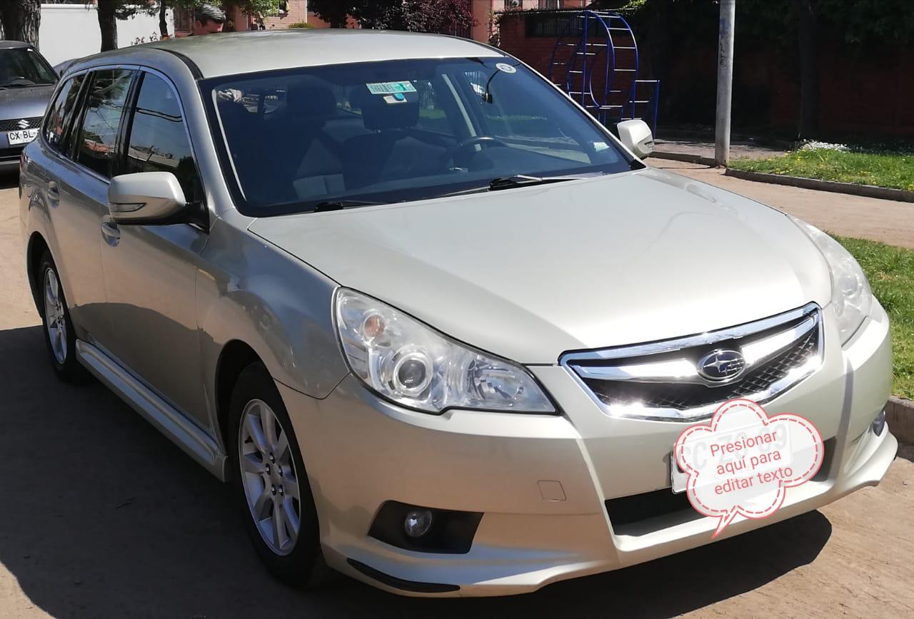 Subaru All New Legacy 2.0i AWD XS Automatica año 2010